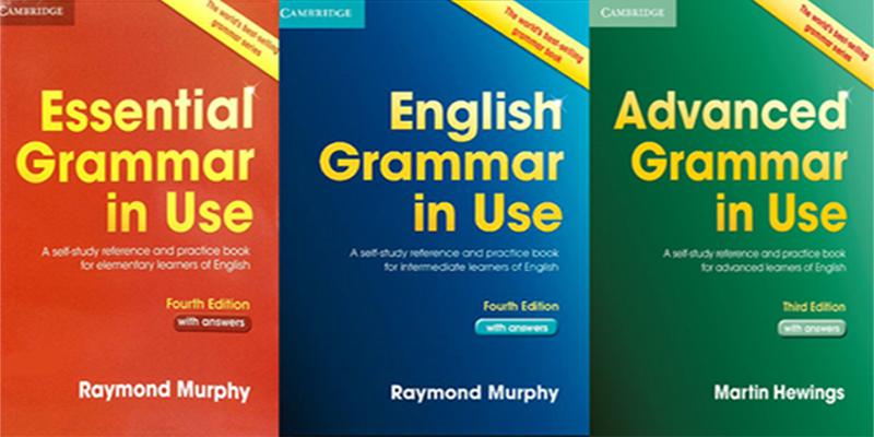 کتاب های آموزش گرامر زبان انگلیسی