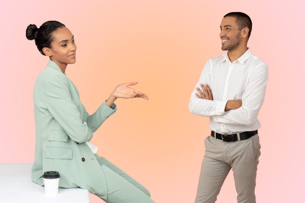 در جهت یادگیری اصولی مکالمه زبان انگلیسی تبادل يادگيري زبان انجام دهيد.