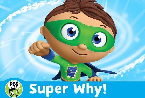 دهکده کتاب داستان super why