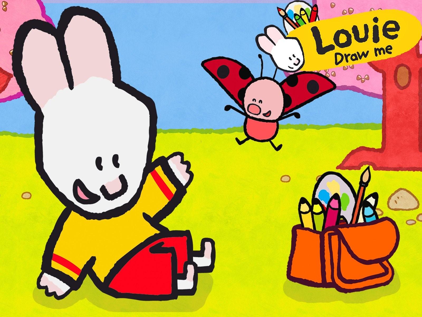 نقاشی بكش لويی draw me a picture louie
