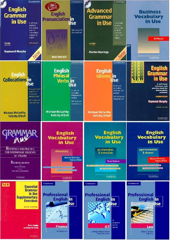 کتابهای آزموزش زبان انگلیسی