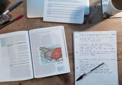 لغات مرتبط با آمادگی امتحان