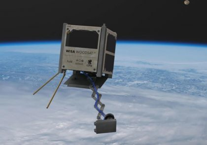 Company Plans to Launch First Satellite Made of Wood